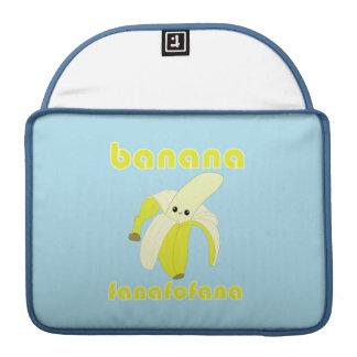Kawaii Banana Fanafofana Macbook Pro Sleeve