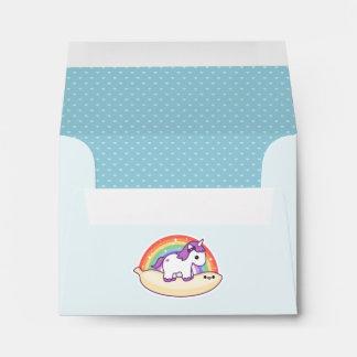 Kawaii Banana Unicorn Envelope