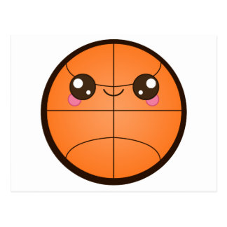 Kawaii Basketball Postcard