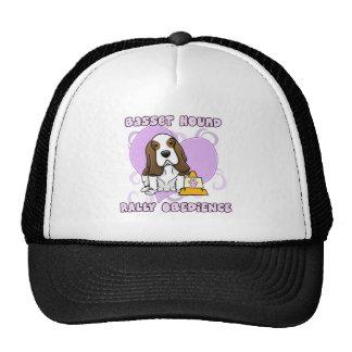 Kawaii Basset Hound Rally Obedience Trucker Hat