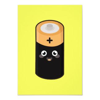 Kawaii battery card