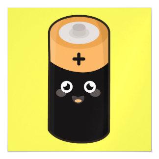 Kawaii battery magnetic card