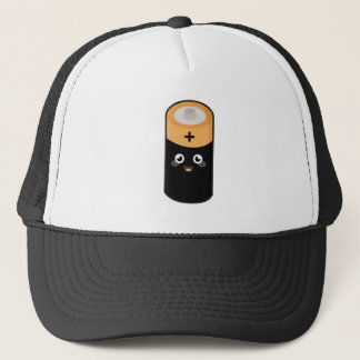 Kawaii battery trucker hat