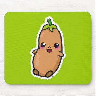 Kawaii Bean mousepad