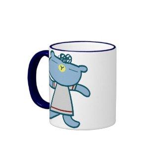 kawaii bear coffee mug