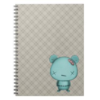 kawaii bear notebook