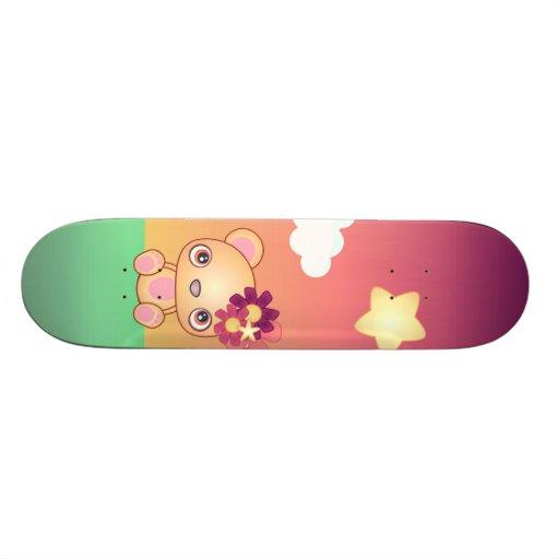 Kawaii Bear Skate Boards