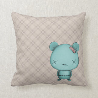 kawaii bear throw pillows