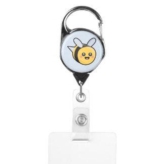 Kawaii Bee Badge Holder