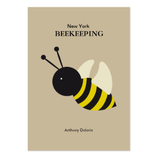 kawaii Bee beekeeping Large Business Card
