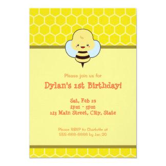 Kawaii Bee Card