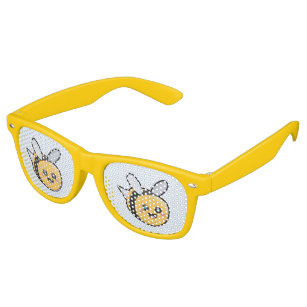 58e955b6926 Retro Bees Sunglasses   Eyewear