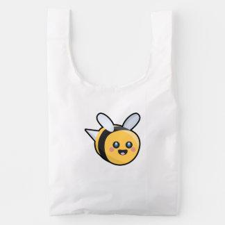 Kawaii Bee Reusable Bag