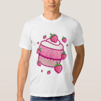 kawaii berry cupcake t shirt