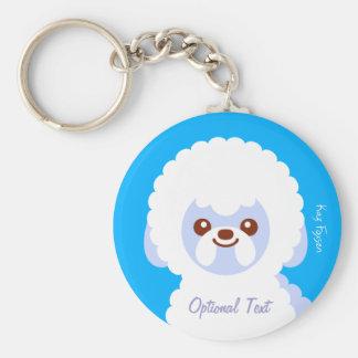 Kawaii Bichon Frise Cartoon Dog Key Chains