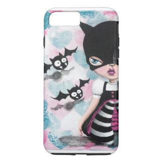 Kawaii Big Eye Bat Girl Phone Case
