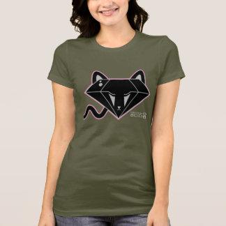Kawaii Black Diamond Kitty Cat T-Shirt