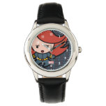 Kawaii Black Widow Dash Wristwatch