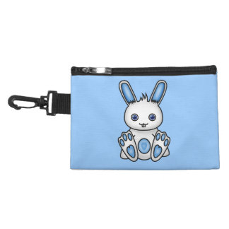 Kawaii Blue Bunny Accessory Bag