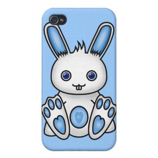 Kawaii Blue Bunny Case For iPhone 4
