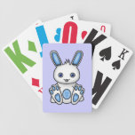 Kawaii Blue Bunny Deck Of Cards