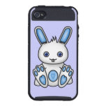Kawaii Blue Bunny iPhone 4/4S Cover