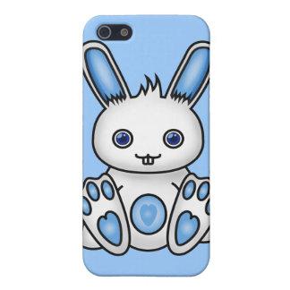 Kawaii Blue Bunny iPhone SE/5/5s Cover