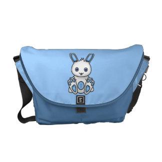 Kawaii Blue Bunny Messenger Bags