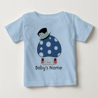 Kawaii blue mushroom baby T-Shirt