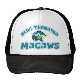 Kawaii Blue Throated Macaw Trucker Hat