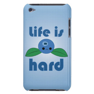 Kawaii Blueberry Life is Hard iPod case iPod Touch Cover