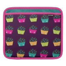 Kawaii Blueberry Muffins iPad Rickshaw Sleeve