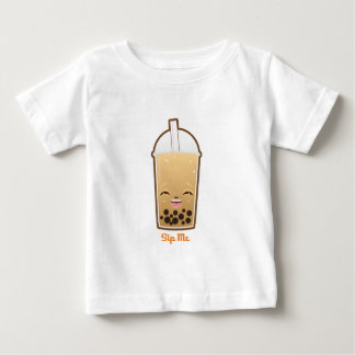 Kawaii Boba Bubble Tea Baby T-Shirt