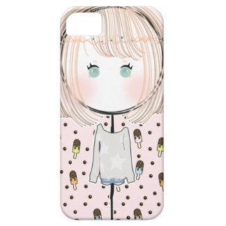 Kawaii Bohemian Gal Iphone Case