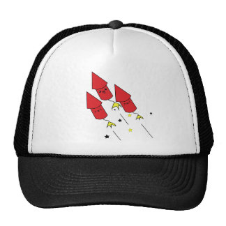 Kawaii bottle rocket hat
