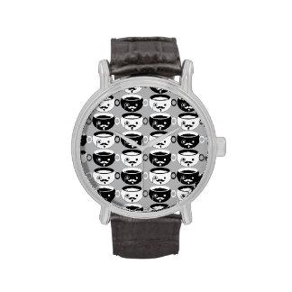 Kawaii británico Cuppa de Joe Reloj