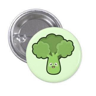 Kawaii Broccoli Button