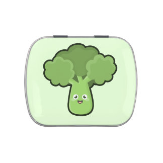 Kawaii Broccoli Candy Tin