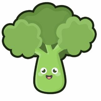 Kawaii Broccoli Cutout