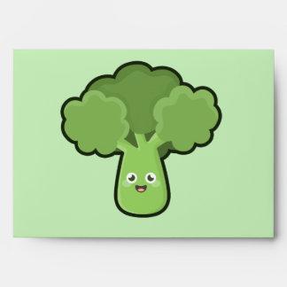 Kawaii Broccoli Envelope