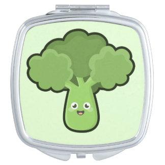 Kawaii Broccoli Mirror For Makeup
