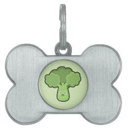 Kawaii Broccoli Pet ID Tag