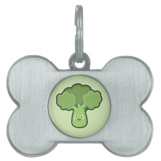 Kawaii Broccoli Pet ID Tag