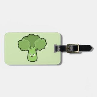 Kawaii Broccoli Tag For Luggage
