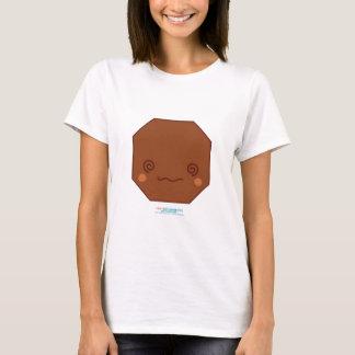 Kawaii Brown Octagon T-Shirt