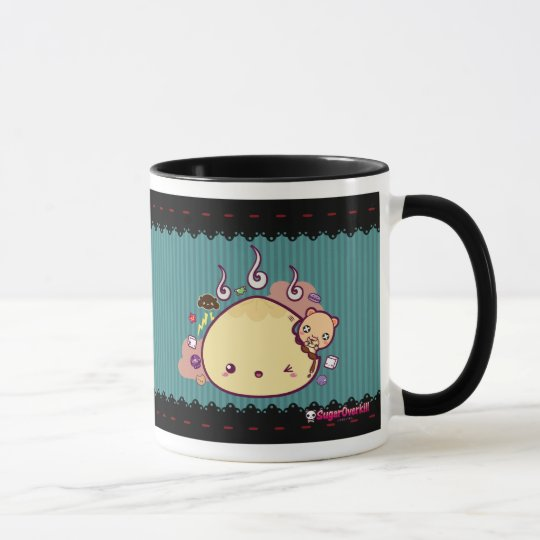 Kawaii Bun Attacked! Mug