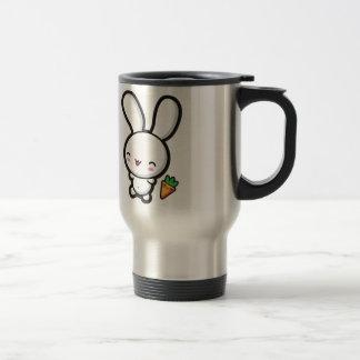 Kawaii Bunny and Carrot Travel Mug
