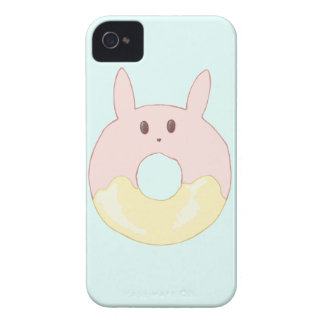 Kawaii Bunny Donut Case-Mate iPhone 4 Case