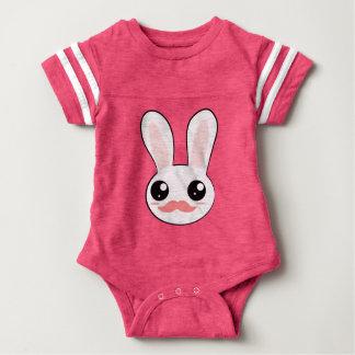 Kawaii Bunny Face Jersey Tee Shirt