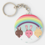 Kawaii Bunny Key Chain